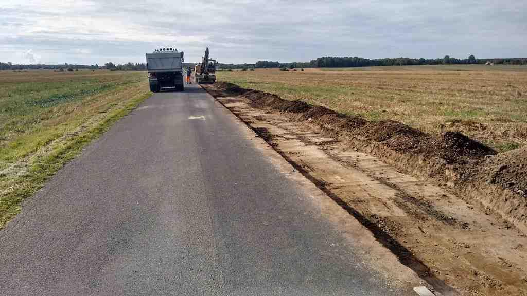 przebudowa drogi