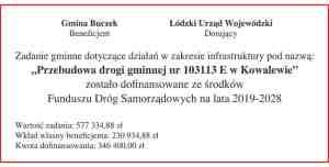 tablica droga kowalew