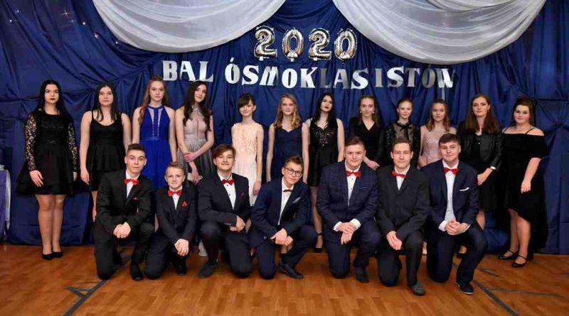 Bal ósmoklasistów - 2020