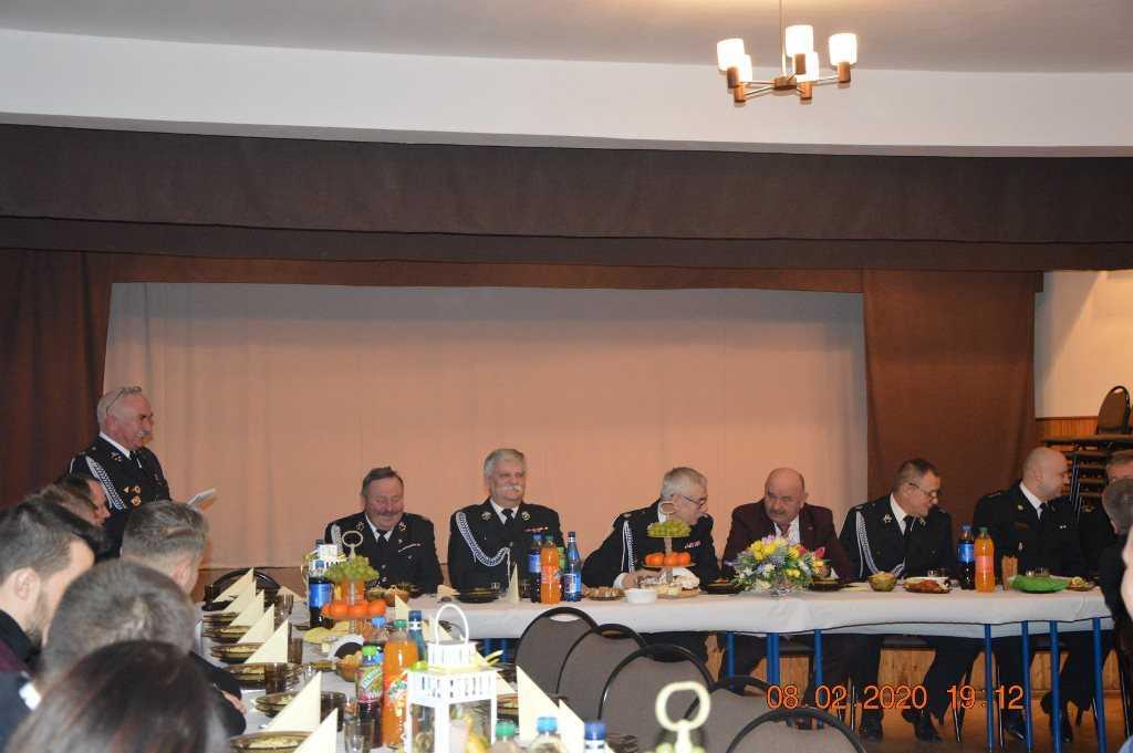 zebranie strażackie 2020r. w Buczku