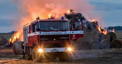 samochód strażacki DAF