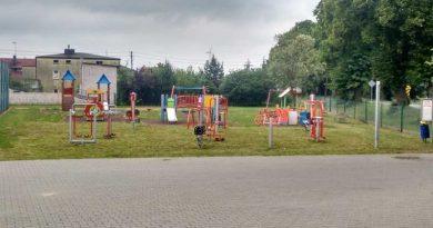 plac zabaw w Buczku