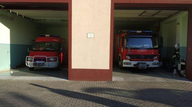 nowy samochód strażacki w Maleni