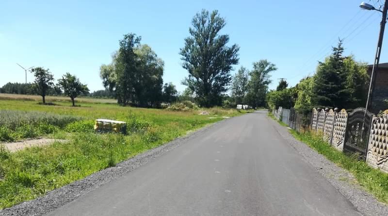 droga w Buczku