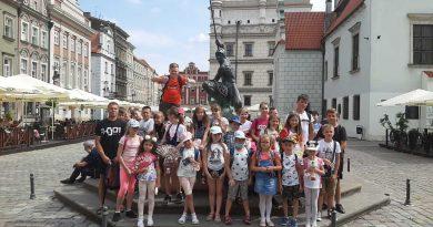 półkolonie buczek wyjazd do Poznania