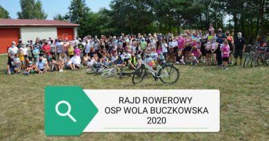 zdjęcie z rajdu rowerowego - sierpień 2020
