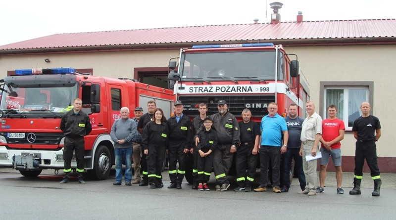 strażacy OSP Malenia