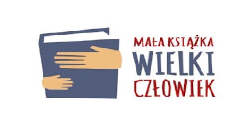 """logo programu """"mała książka - wielki człowiek"""""""