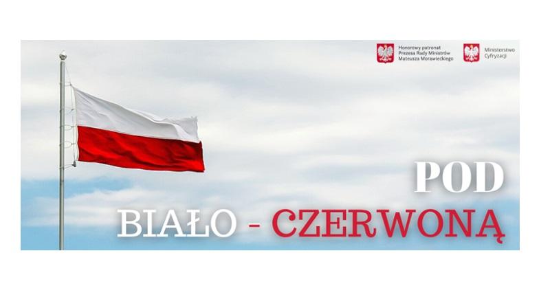 logo projektu pod biało czerwoną