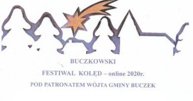 Buczkowski festiwal  kolęd – online 2020