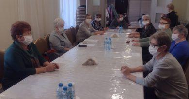 zebranie Koła Gospodyń Wiejskich w Bachorzynie