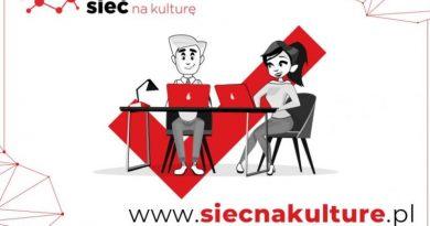 plakat akcji sieć na kulturę