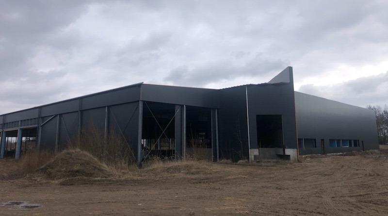 budynek pieczarkarni w Buczku
