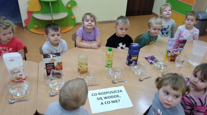 badanie wody w przedszkolu