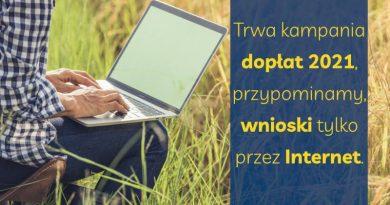 plakat o dopłatach rolniczych