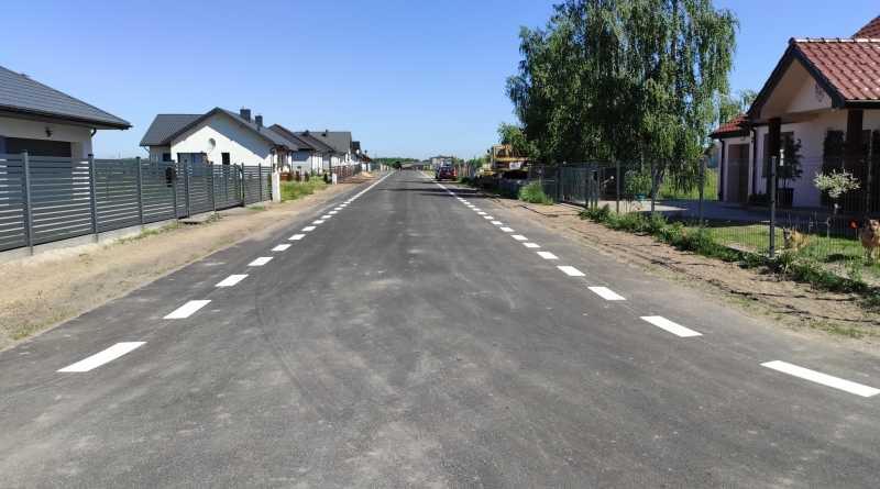 nowe drogi na osiedlu truskawkowym