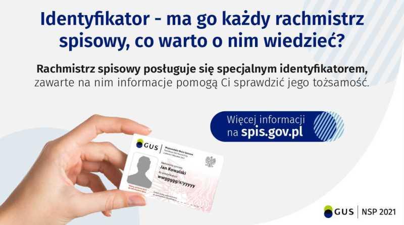 identyfikator rachmistrza spisowego