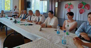 zebranie OSP w Buczku