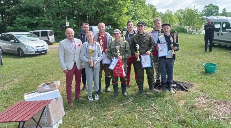 zawody wędkarskie w Buczku - czerwiec 2021
