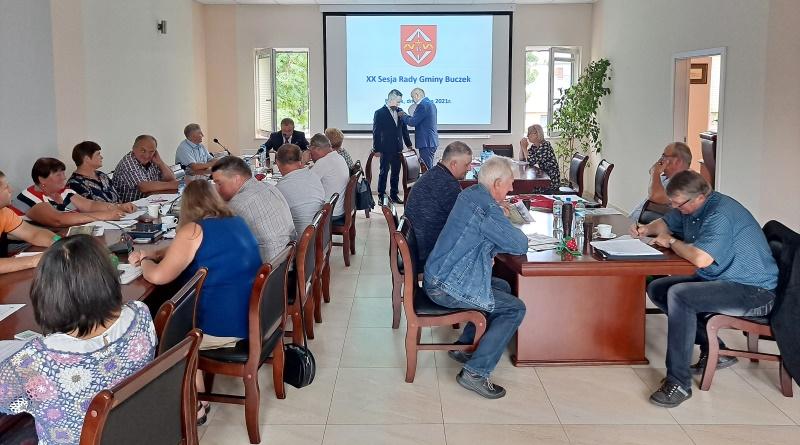 sesja Rady Gminy w Buczku