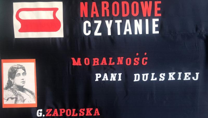 plakat Narodowe Czytanie w gminie Buczek